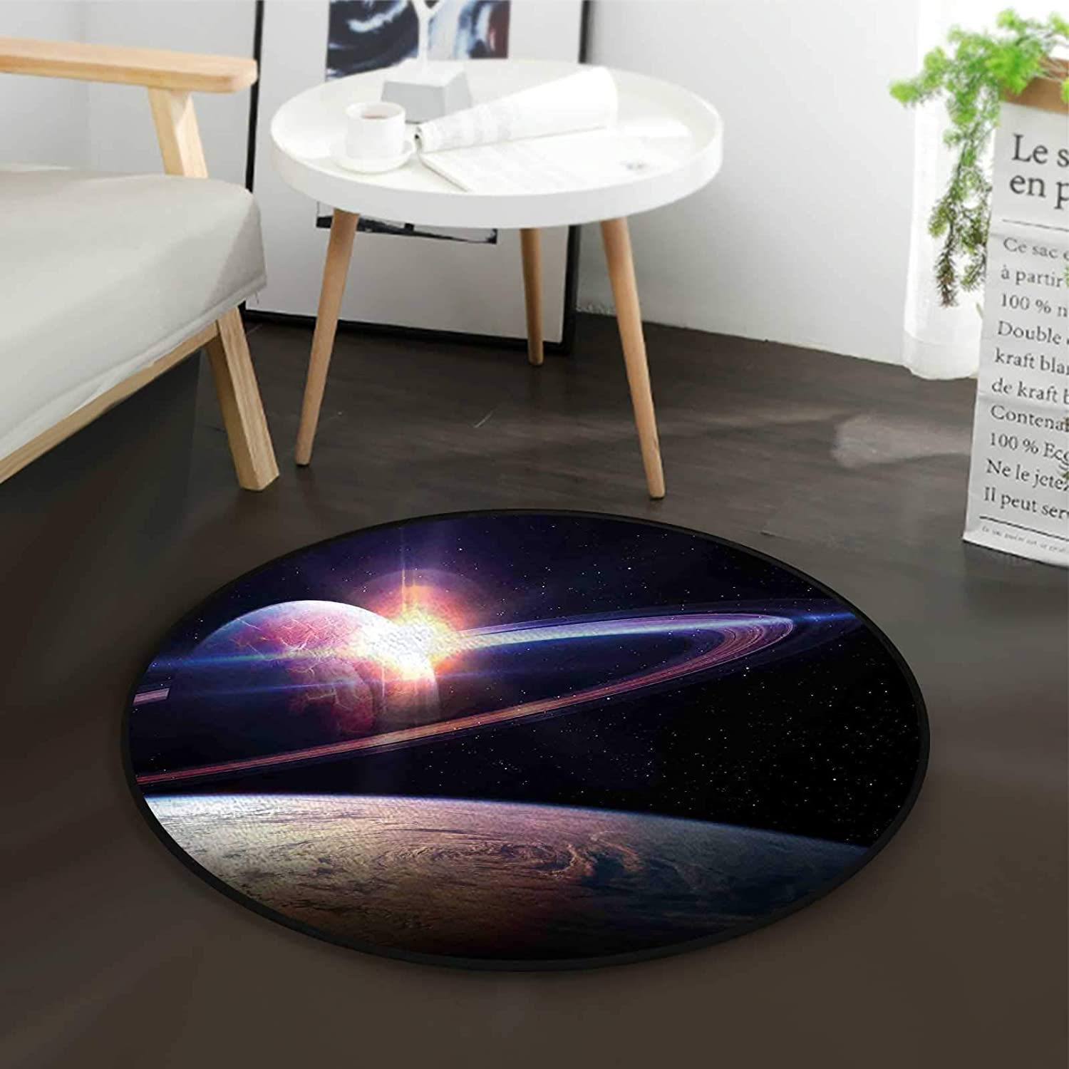 Massive Planets Cosmo Office Ranking TOP17 Swivel Floor Mat Home Excellence Chair