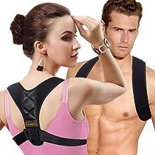 Posture Corrector for Women Men - Back Brace Shoulder Brace,Adjustable bodywellness Posture Corrector Brace Posture Belt B...