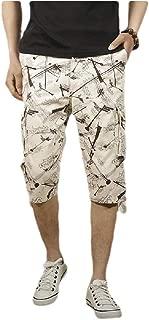 Mogogo Men's Slim Fit Skinny-Fit Casual Loose Multi Pockets Shorts