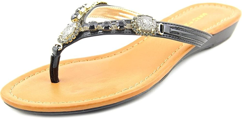 Marc Fisher Women's Liliana Flip Flop Wedge Sandal