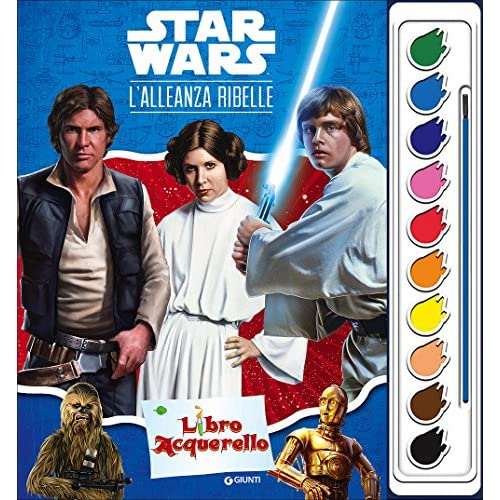Star Wars. Libro acquerello. Ediz. illustrata. Con gadget