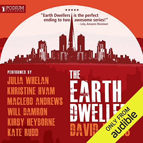 The Earth Dwellers audiobook cover art