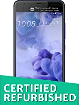 HTC U Ultra 64GB Unlocked GSM Android 7.0 with HTC Sense Smartphone Sapphire Blue (Dual-Display | 16MP+12MP Cameras | 3D A...