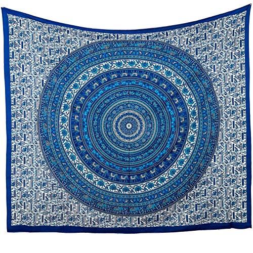MOMOMUS Tapiz de Mandala para Pared - Ideal como Pareo,...