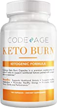 Codeage Keto Burn Pills – Ketogenic and Nootropic Supplement for Keto Low Carb Natural Burn Keto Mental Focus Clarity L Theanine Bacopa Monnieri More 180 Capsules Estimated Price : £ 37,99
