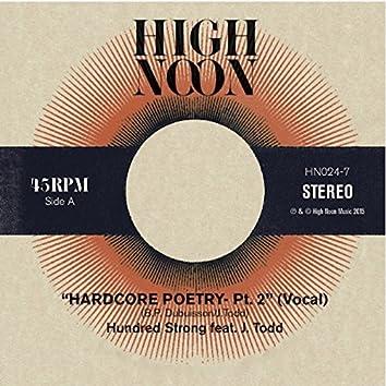 Hardcore Poetry, Pt. 2 (feat. J.Todd)