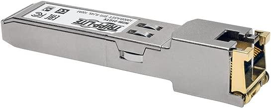 Tripp Lite Cisco GLC-T Compatible RJ45 SFP Mini Transceiver 1000Base-TX Copper Gigabit Ethernet Cat5e Cat6 (N286-01GTX)