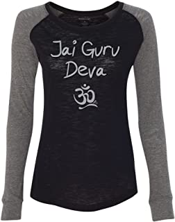 Yoga Clothing For You Ladies Jai Guru Deva Om Tee Shirt
