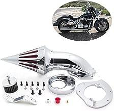 SMT MOTO- Motorcycle Spike Air Cleaner Intake Filter Kit For Honda Vtx1300 Vtx 1300 1986-2012 Chrome