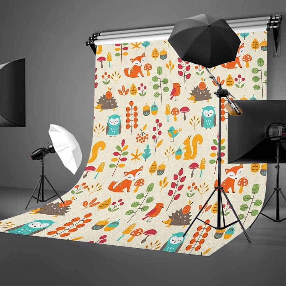 8x12 FT Floral Vinyl Photography Background Backdrops,Damask Inspired Motifs Tile Pattern with Arabic Turkish Cultural Origins Background Newborn Baby Portrait Photo Studio Photobooth Props