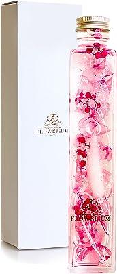 [フラワリウム] 贈り物 誕生日プレゼント 女性 ホワイトデー 母の日 お盆 供花 ギフト ハーバリウム 花 (ピンク)