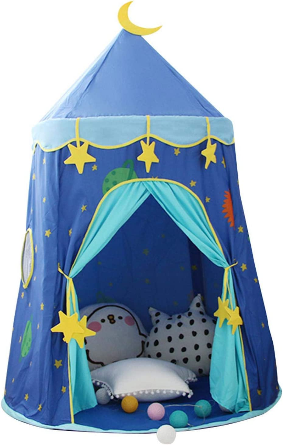 Tenda per bambini Tenda per bambini Tenda per bambini Tenda da gioco Castello Tenda da gioco per interni Tenda da yurta con puntello per giochi da interno