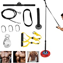 Katrol Kabel Systeem Fitness Apparatuur - Thuis Indoor Apparatuur voor krachttraining Armmachines