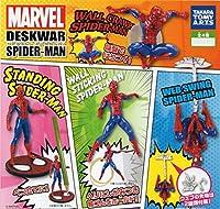 ガチャ MARVEL デスクウォー スパイダーマン 全4種セット ホビーアイテム