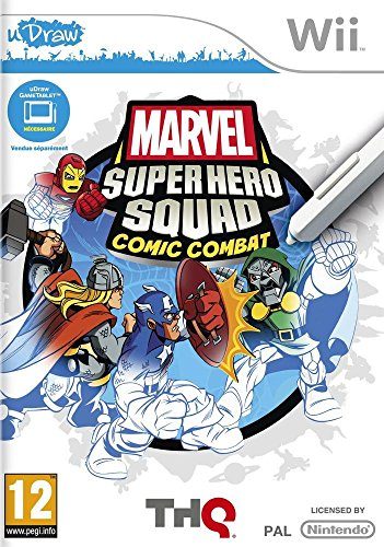 Marvel Super Hero Squad Comic Creator (Spiel Wii Tablet)