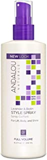 Andalou Naturals Lavender & Biotin Full Volume Style Spray 8.2 Ounce