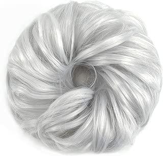 ROSEBUD Hair Bun Extensions Messy Donut Synthetic Chignon Hairpiece Easy Bun Hair Pieces for Women Hair Updos