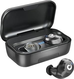 Wireless Earbuds, Waterproof True Wireless Bluetooth Earbuds with Mic, TWS Stereo Earphones Headphone in Ear