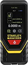 Stanley 50M TLM165 Laser Measure 0.1 → 50m Range ±1.5mm Accuracy with Multi-Measurement Modes Pythagorean, Distance, Area&...