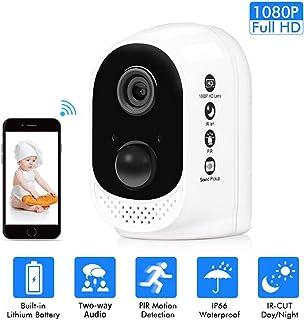 BABIFIS Monitor de bebé batería de hogar 2 Millones de cámaras de Red Tiempo de Espera súper Largo Soporte de Carga USB