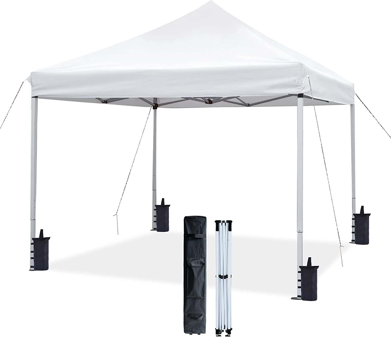 ASTEROUTDOOR 10'x10' Commercial 300 Max 76% OFF Denier Can Ranking TOP15 Up Pop Duty Heavy