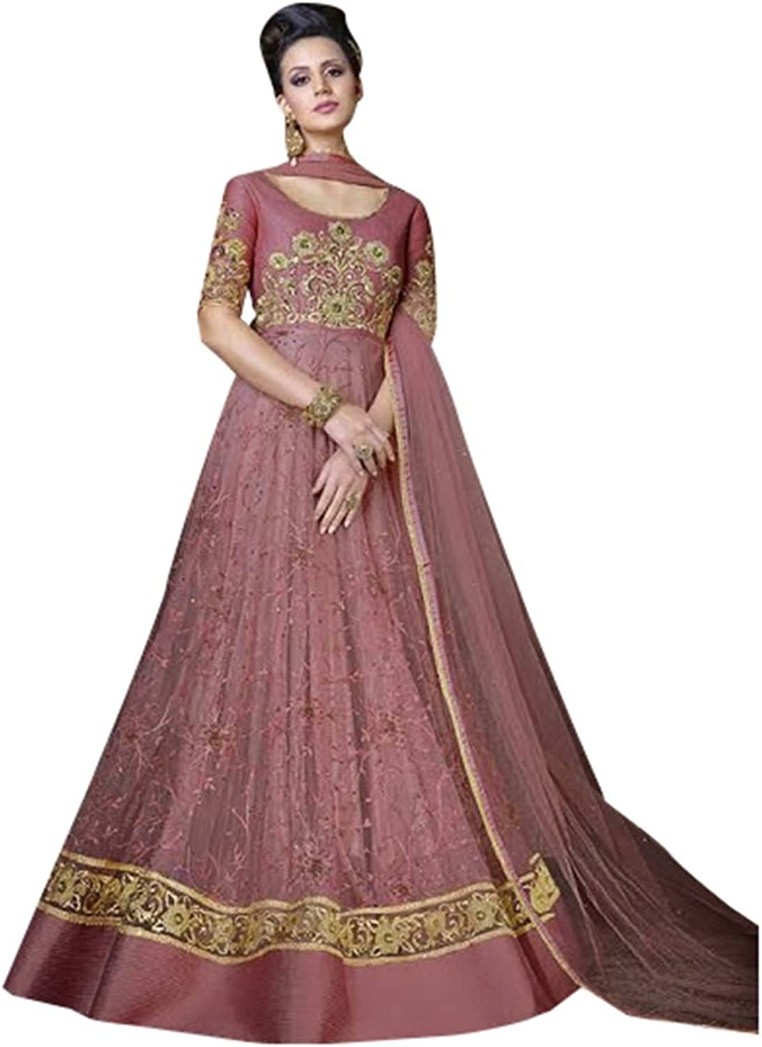 Bollywood Collection Anarkali Salwar Kameez Suit Ceremony Punjabi Muslin 640 2