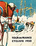 AMELIA SHARPE Vintage Retro Collection Tin Logo-1950 Tour De France Bicycle-Wall Decoration 12x8 Inch Poster Bar Restaurant Home Garage Cafe Metal Sign