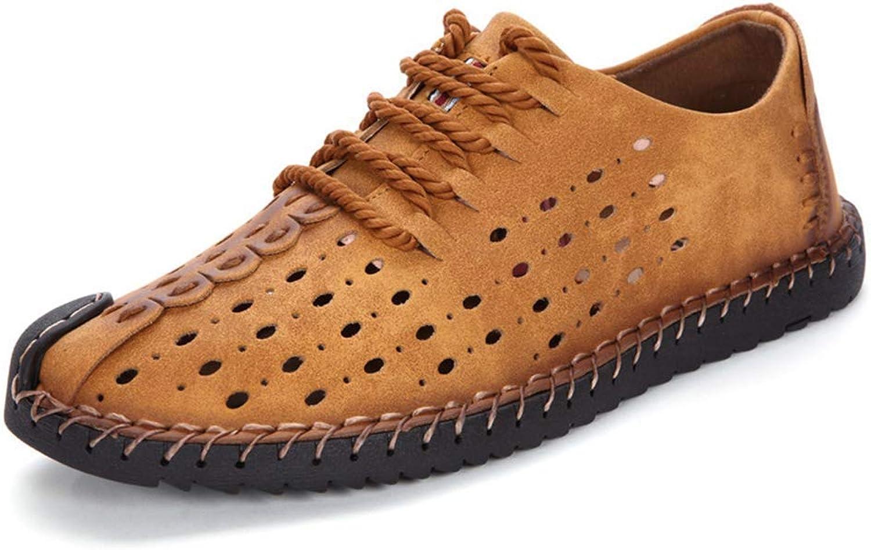 HhGold Mens Casual Schuh Lace-Up Männer Müßiggänger Mokassins Slip On On On Schuhe Stiefel Wohnungen Schuhe Oxford Turnschuhe Männlich (Farbe   604Gelb, Größe   740 UK)  78461c