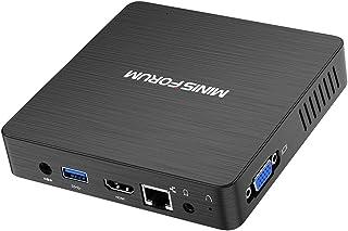 Mini PC, Procesador Intel Atom X5-Z8350 sin Ventilador CPU de 4 GB DDR / 64 GB eMMC Mini Ordenador de Escritorio con Windo...