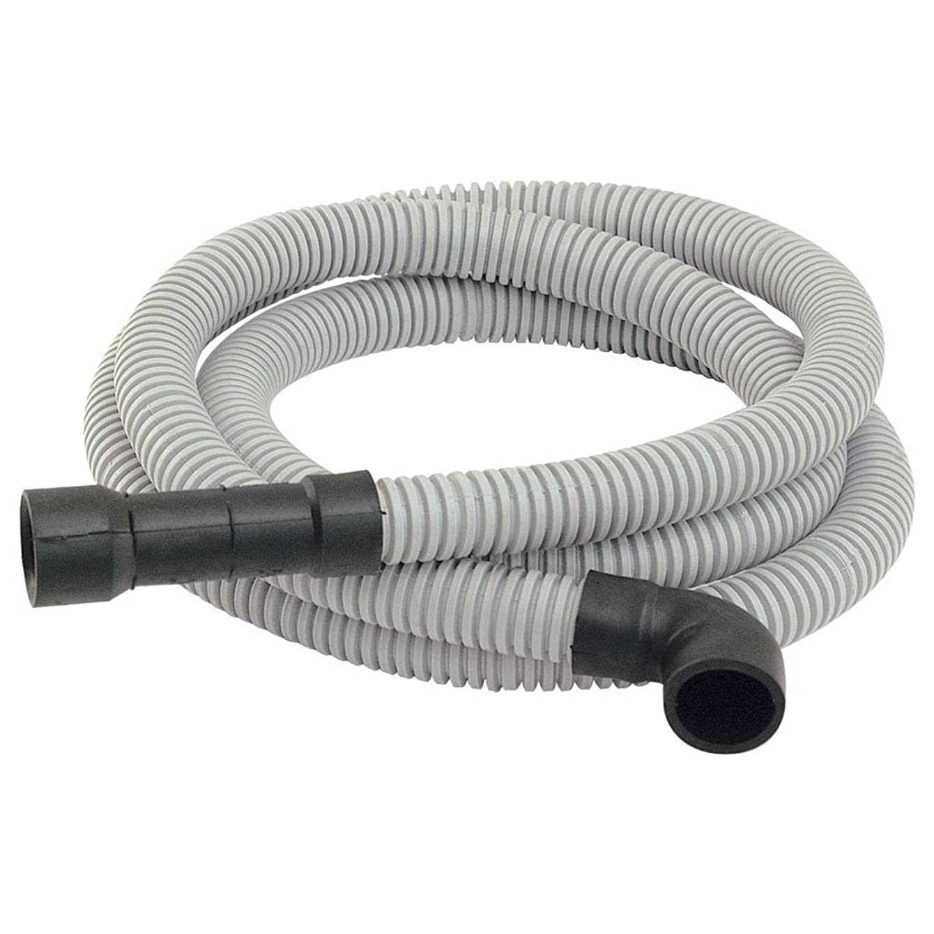 Eastman 91218 Universal-Fit Dishwasher Discharge Hose, 8 Ft Length, Grey, 8 Feet,