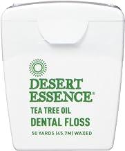 DESERT ESSENCE Tea Tree Dental Floss Display 6 Piece, 0.02 Pound