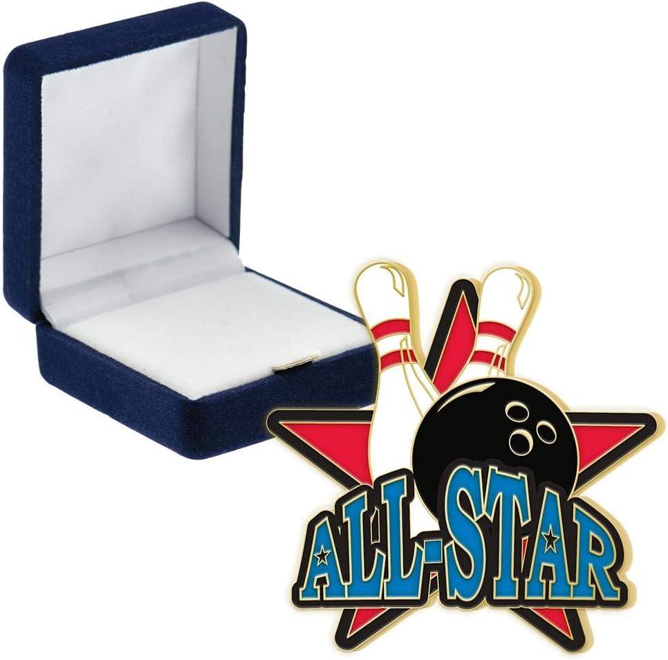 Crown Awards Bowling Allstar Mail order 2021 spring and summer new Pins Pin