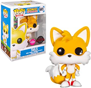 FUNKO POP SONIC THE HEDGEHOG EXCLUSIVE - TAILS 641 (FLOCKED)