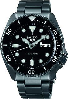 SEIKO 5 FACELIFT, 10 Bar water resistant, Calendar, Black Men's watch SRPD65K1