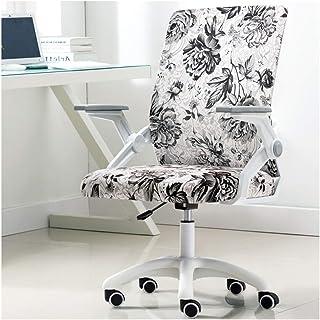 Silla de Oficina Giratoria Tela cómoda silla de la computadora de altura ajustable Silla de oficina con el cromo base de la silla giratoria acolchado, Hogar / Muebles de Oficina Escritorio Ergonómica