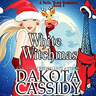 White Witchmas     Paris, Texas Romance, Book 4              By:                                                                                                                                 Dakota Cassidy                               Narrated by:                                                                                                                                 Hollie Jackson                      Length: 3 hrs and 18 mins     88 ratings     Overall 4.6