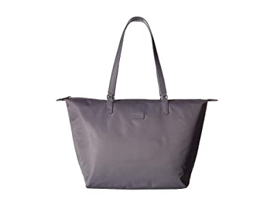 Lipault Paris Lady Plume Tote Bag M (Pearl Grey) Bags