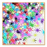 Beistle Starbursts Confetti New Year's Eve Party Supplies, Birthday Decorations, Tableware, 0.5 Ounces, Multicolored
