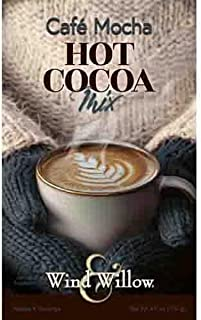 Wind & Willow - Cafe Mocha Hot Cocoa - Mix 4.6 Ounces - Makes 4 Servings