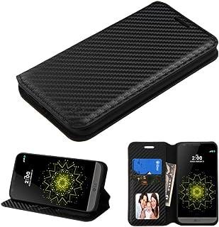 جراب محفظة MyBat لهاتف LG G5 - عبوة بيع بالتجزئة - أسود