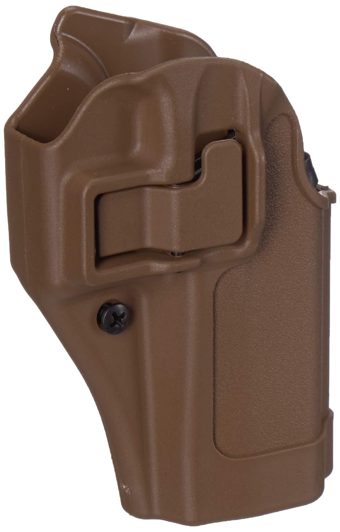BlackHawk 410502BK-R Serpa CQC Concealment Holster Matte RH for Black Glock 19