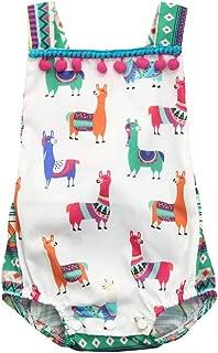 Hatoys Cute Animal Romper,Baby Girls Halter Sleeveless Jumpsuit Bodysuit Clothes