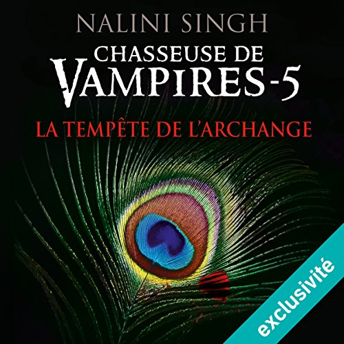 La tempête de l'archange (Chasseuse de vampires 5) audiobook cover art