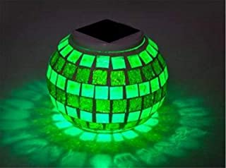 FEE-ZC Mosaic Lights Magic Night Light Garden Room Waterproof Decorative Lamp Disco Lawn Colorful Light