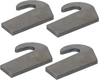 4 Weld On Mounting Brackets for Pin Type Over The Bucket Loader Pallet Forks