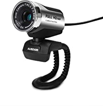 HD Webcam 1920x1080P, AUSDOM AW615 Computer Cameras with USB 2.0 Noise-cancelling USB Web..