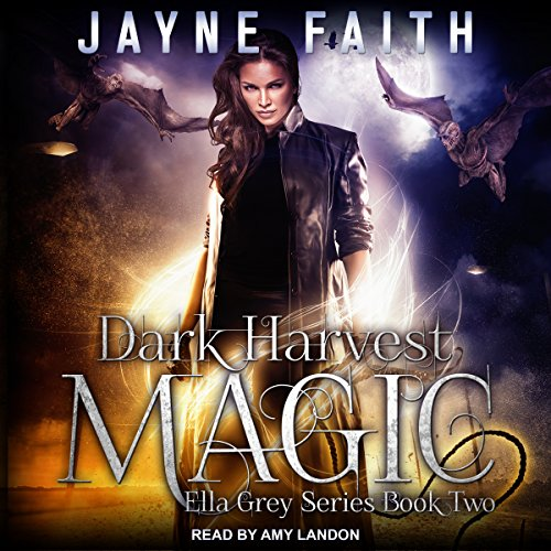 Dark Harvest Magic audiobook cover art