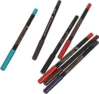 Lurrose Lábio Lápis Delineador Suave Lápis de Sobrancelha Cosméticos Lápis Labial de Longa Duração de Maquiagem À Prova D'...