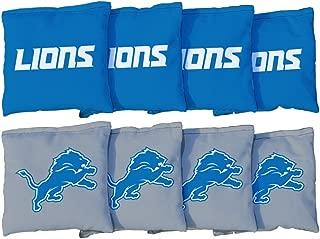 NFL Cornhole Game Bag Set (8 Bags Included, Corn-Filled)