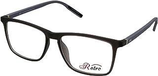 RETRO Unisex-adult Spectacle Frames Rectangular 5505 M.Dark Grey/Light Grey